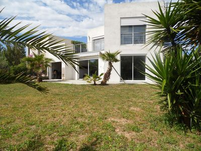Photo for CONTEMPORARY VILLA IN RESIDENTIAL AREA 200 M FROM THE BEACH