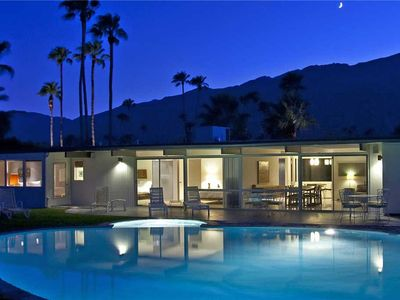 Photo for Panoramic Mountain Views! Classic Palm Springs Midcentury Vacation Home