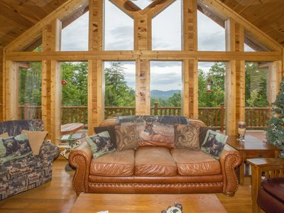 Photo for Private, Secluded, Perfect Romantic Getaway; Close to Dollywood and Gatlinburg