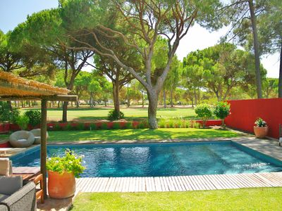 Photo for Holiday villa in Pinhal Golf course (PLUS RETREATS)