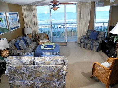 Photo for Crescent Shores Oceanfront Unit 201! Stunning Condo. Book your get away today!