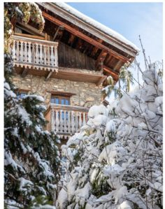 Photo for Black Forest Lodge  Feel the heart of Megève, the magical authentic village .