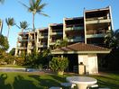 Beachside view of Hale Mahina resort