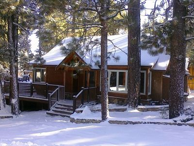 Photo for Pine Rock Cabin – Pool Table – Walk to Slopes/Golf