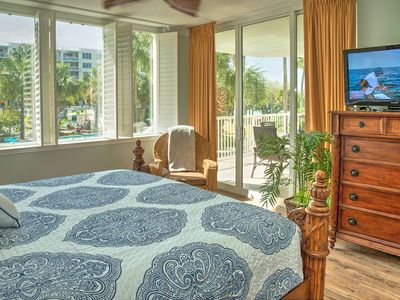 Photo for Osprey L05--Great 3 BR 2 Bath Lanai Condo with Grill and Hot Tub!