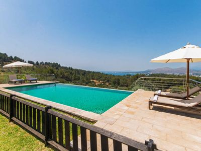 Photo for Villa Carros  -  Private Pool Great Views