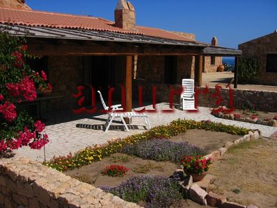Photo for Small villa by relax, surrounded by the sea, 70 meters from the beach