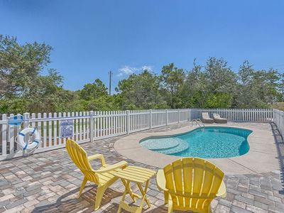 Photo for Private Pool, Easy Beach Access, Midway Down Cape San Blas ~ Searenity