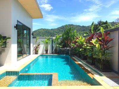 Photo for New 2 Bdrm, 2 Bath, Private Pool Villa With Mountain Views