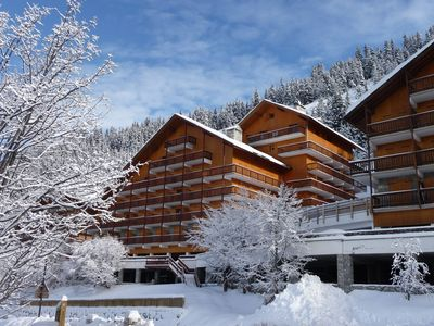 Photo for Rental flat (2 rooms) Meribel (Le Plateau area)