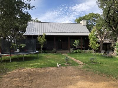Photo for Overlooking the Blanco River, near Wimberley, on 4 acres!