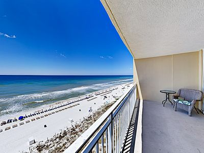 Photo for New Listing! Beachfront Resort w/ Two Pools & Gulf Views, Walkable Locale