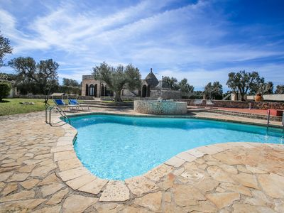 Photo for September LAST MINUTE!- 30% exclusive trullo with swimming pool and whirlpool