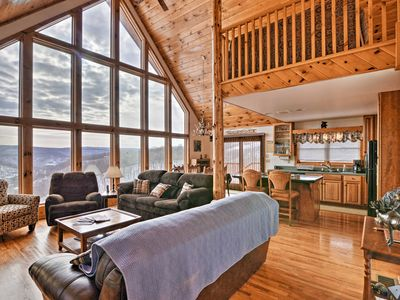 Photo for NEW! Mountaintop Chalet- 15 Min to Snowshoe Resort