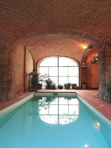 Photo for MOZART house - indoor pool garden wifi events