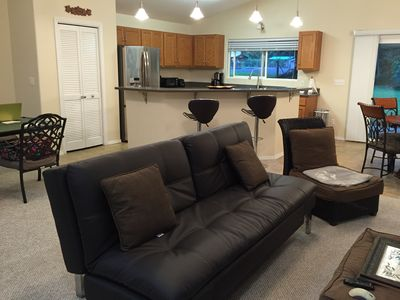 Photo for Peaceful, Spacious 3 bdrm house. Great for your family vacation!