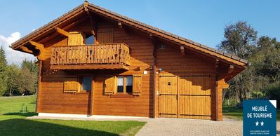 Photo for Chalet 10 pers. 4 ch. - Class ** . Morillon Village. Ski area Grand Massif