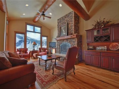 Photo for Luxury home with unbeatable view of Winter Park Resort, private hot tub, garage, two fireplaces