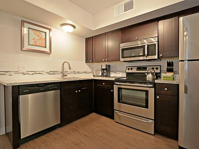 Photo for Modern Studio Apartment w/ Full Kitchen and Laundry