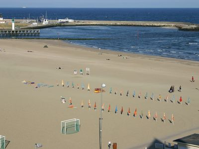 Photo for Luxury apartment with terrace on the beach of Trouville opposite Deauville