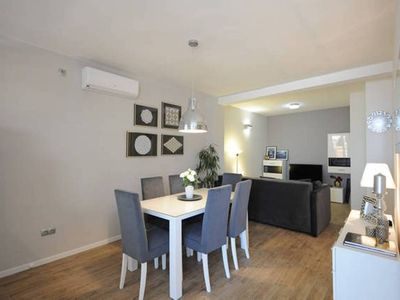 Photo for Luxury sea view apartment by the beach,pool, gym, top location, Vodice