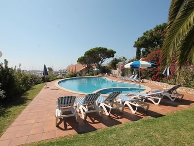 Photo for Frontline 2 bedroom  Vilamoura Marina Apartment - Marina Gardens