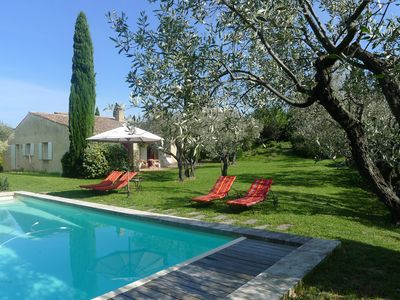 Photo for Garden Charming house in the village of Mirabel aux Baronnies Provence