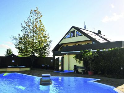 Photo for Holidays on a swimming pool with panoramic views to the Baltic Sea and Burger lake
