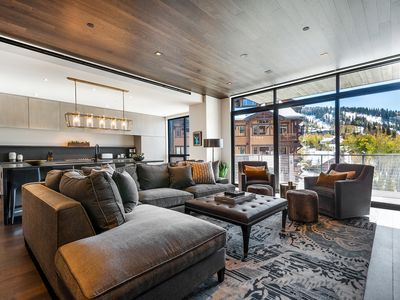 Photo for One Empire Pass A | Common Area Spa Pool | Ski-in/Ski-out | Concierge