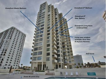 Oceans Condo, Daytona Beach Shores, FL, USA