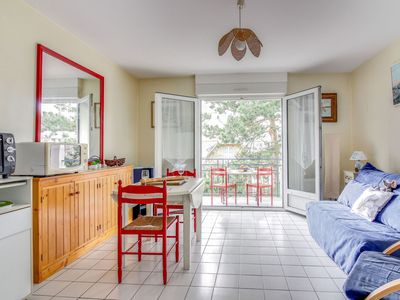Photo for Nice apartment for two guests with WIFI, TV, balcony, pets allowed and parking