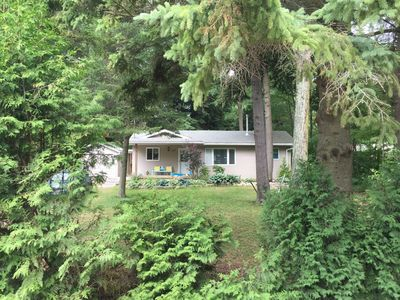 Photo for New Renovated Cottage nestled amongst soaring pine trees and close to sandy beaches.