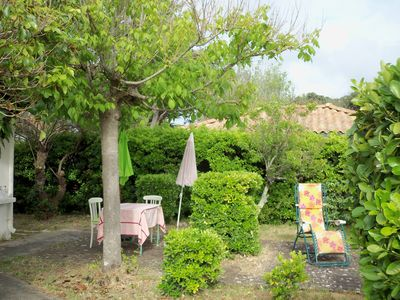 Photo for DETACHED HOUSE STUDIO + GARDEN OF 600m2, quiet, near beach