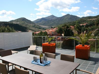 Photo for MODERN VILLA 200 m2 with Pool COLLIOURE