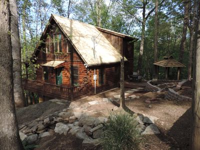 Photo for Cozy and Secluded cabin in the Coosawattee River Resort