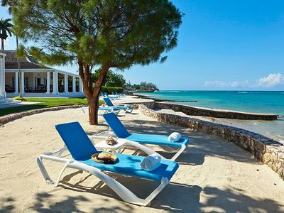 Photo for Beachfront Bliss, Tryall Resort Villa, Full Staff, AC, Free Wifi, Concierge, Walk to Beach Club!