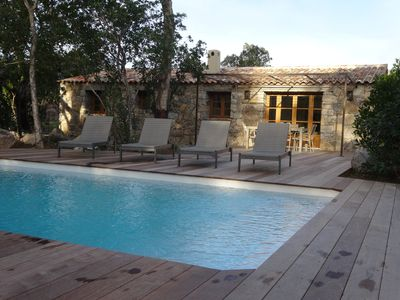 Photo for STE LUCIA DE PORTO VECCHIO new barn air conditioning / heated pool (classified ****)