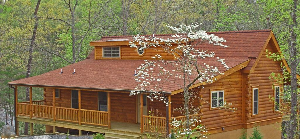 Lakefront Mountain Vacation Cabin In The Lake Lure North