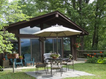 Cozy romantic cabin with fantastic views of the blue ridge for Shenandoah valley romantic cabins