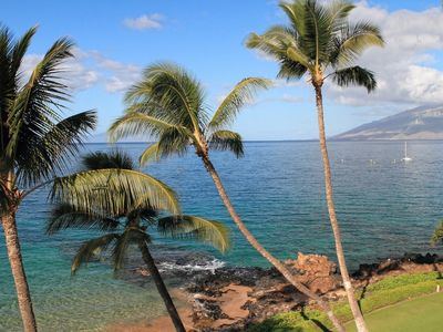 Photo for Closest to the Water - Unobstructed 180+ View - From $315/nt - Kamaole Nalu #406