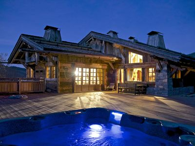 Photo for 5 * CHALET MEGEVE SKI-IN / SKI-OUT