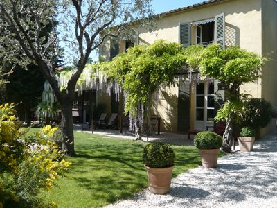 Photo for Charming house with garden and pool in Cap d'Antibes