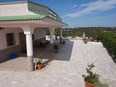 Photo for Villa in the quiet Puglia countryside with new pool, close to town