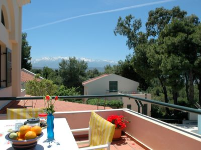 Photo for (w) Villa Pefi - A Lovely 2 Bedroom - Two Storey Apartment - A Short Drive To The Beach