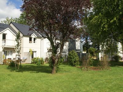 Photo for Apartment 6 persons on park Normandy Garden, in the green hills of Calvados