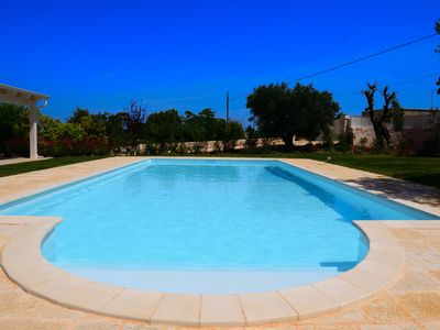 Photo for Villa Greta in Polignano a Mare, maximum relaxation in nature between sea and countryside