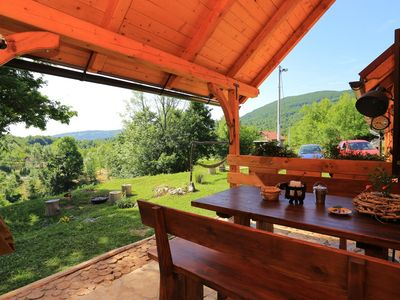 Photo for One bedroom apartment with terrace Seliste Dreznicko (Plitvice)