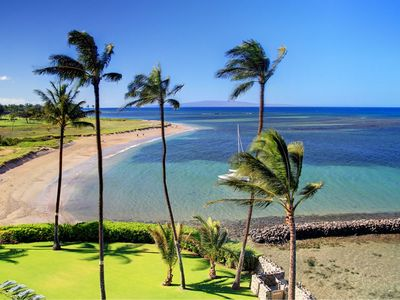 Photo for Picture Perfect Beach Front Views - Starting @ $445.00/nt - Menehune Shores #515