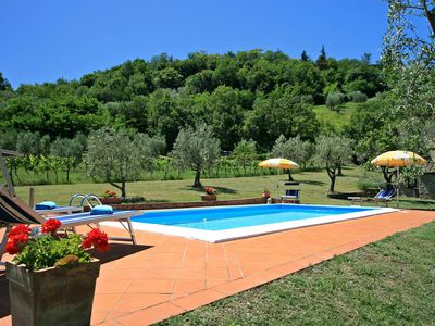 Photo for Tuscany cottages, stunning views over the Chianti hills, private pools