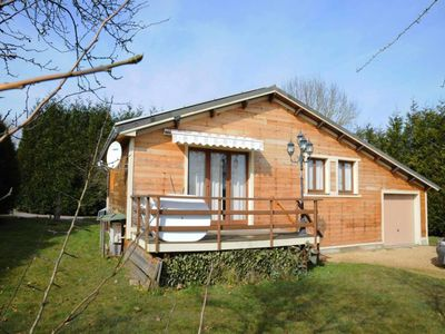 Nice chalet for 5 persons with a magnificent view. Calmly situated in the domain Les Chalets du Che